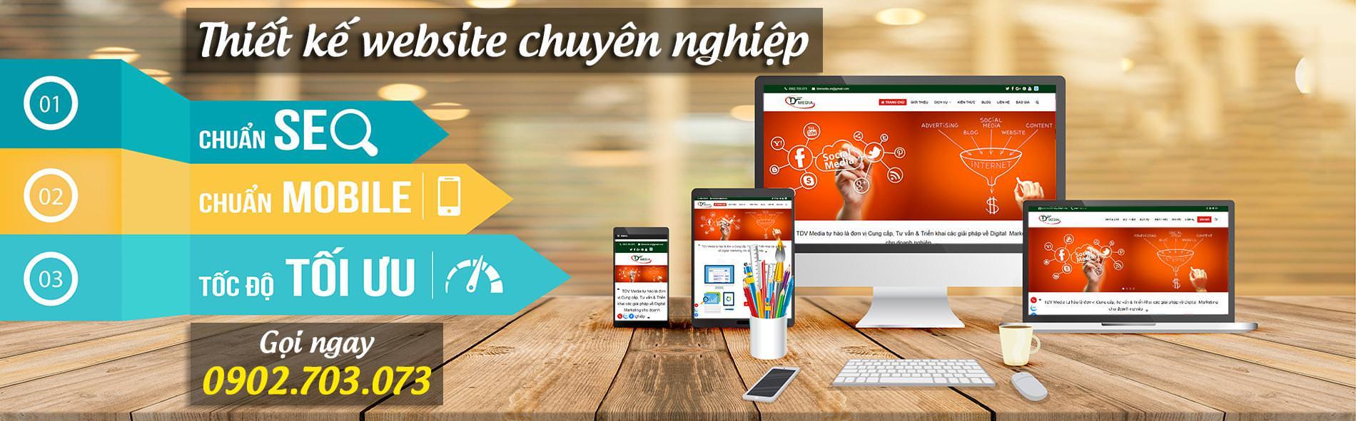 dịch vụ thiết kế website 3cmedia