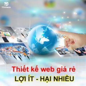 Thiet Ke Web Gia Re Loi It Hai Nhieu