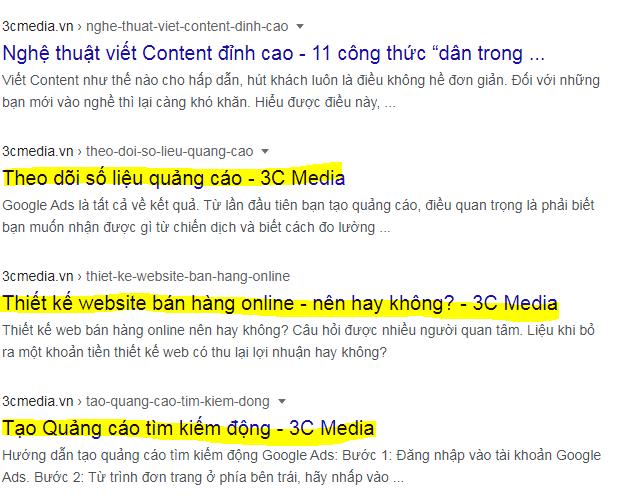 tips viết tiêu đề hấp dẫn cho website
